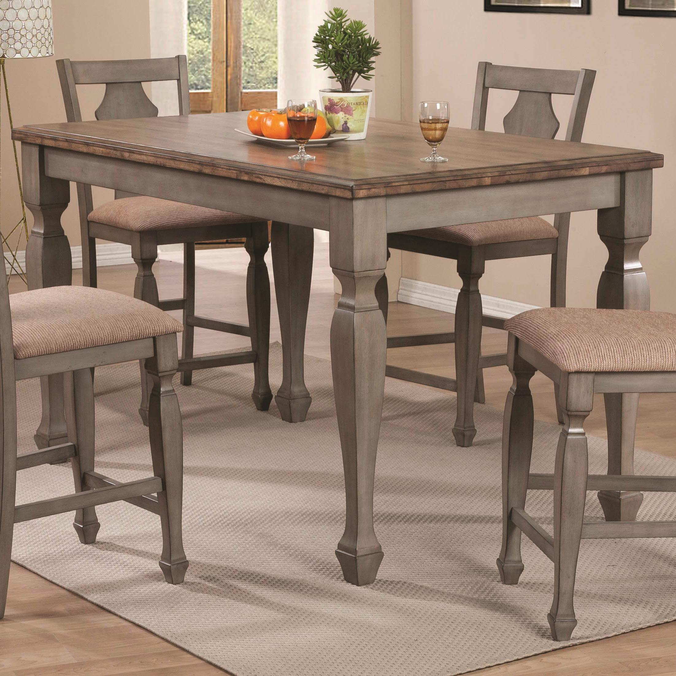 Coaster Riverbend Counter Height Table - Item Number: 106308