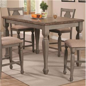 Coaster Riverbend Counter Height Table