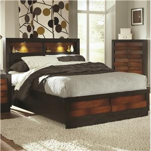 Coaster Rolwing King Bed
