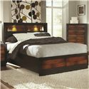 Coaster Rolwing King Bed - Item Number: 202911KE
