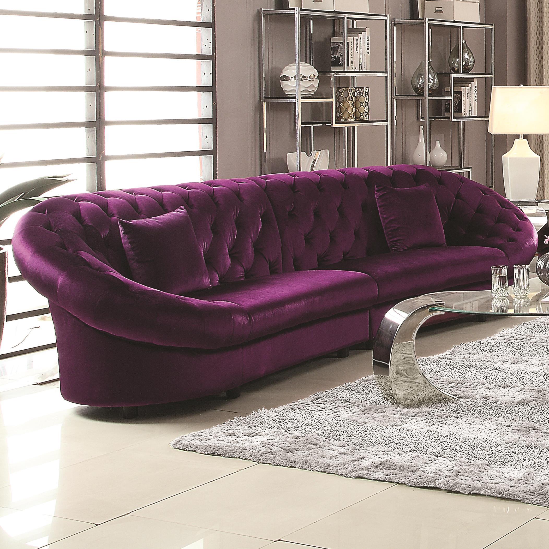 Coaster Romanus Sectional Sofa - Item Number: 511045