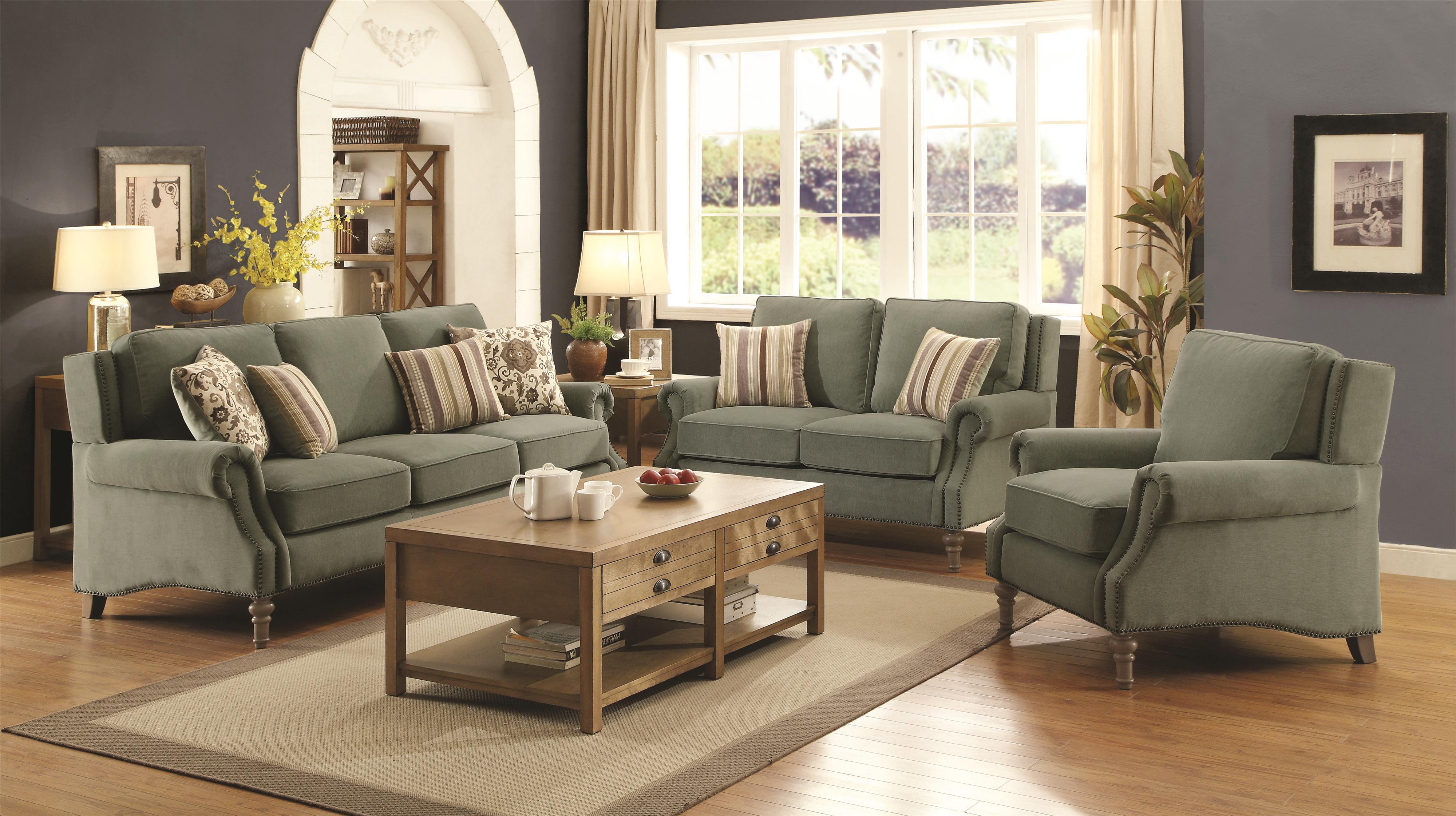 Coaster Rosenberg Living Room Group - Item Number: 50522 Living Room Group 1