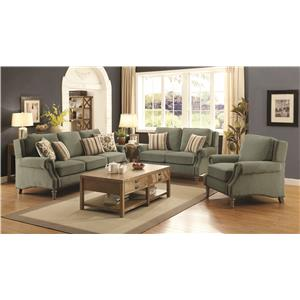 Coaster Rosenberg Living Room Group
