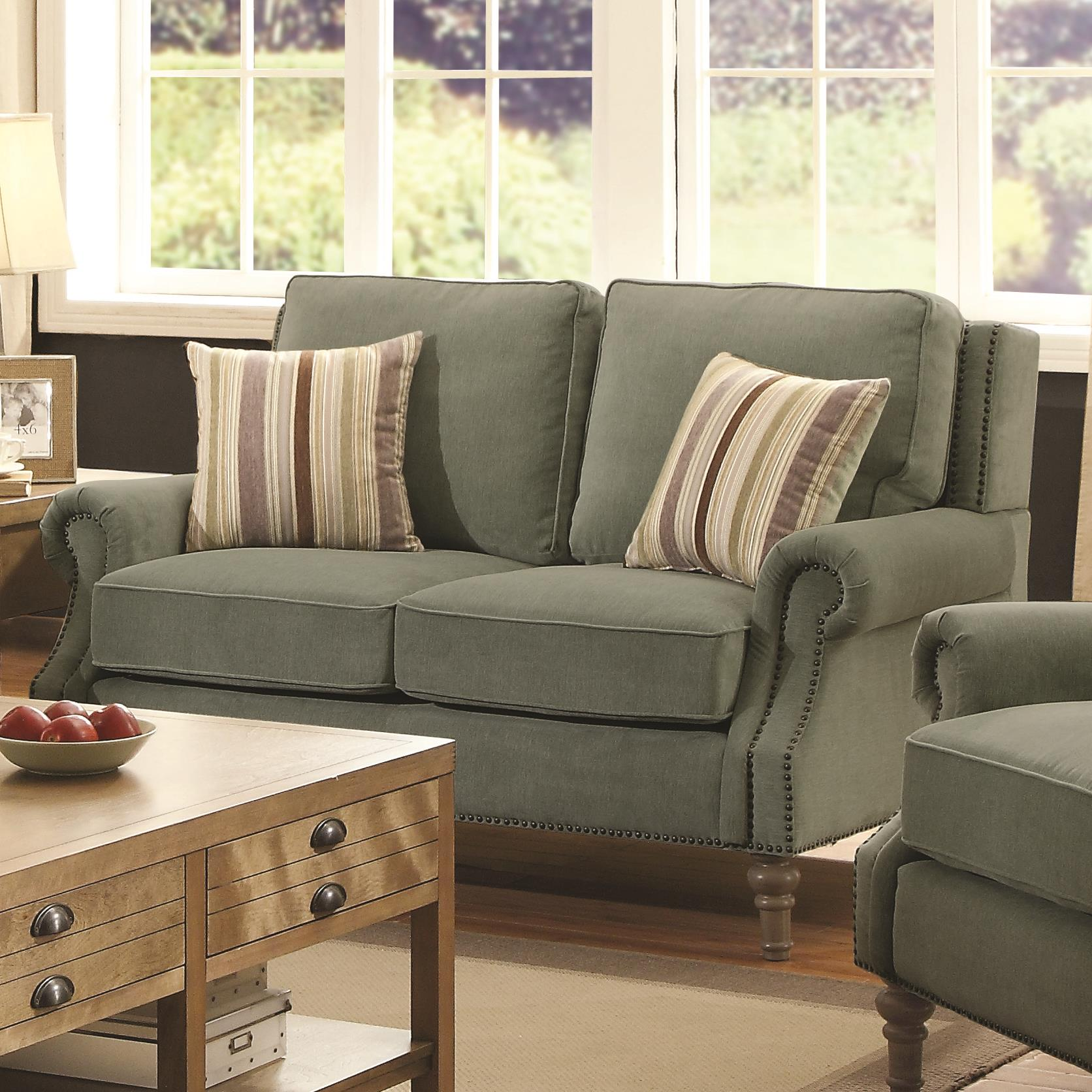 Coaster Rosenberg Loveseat - Item Number: 505222
