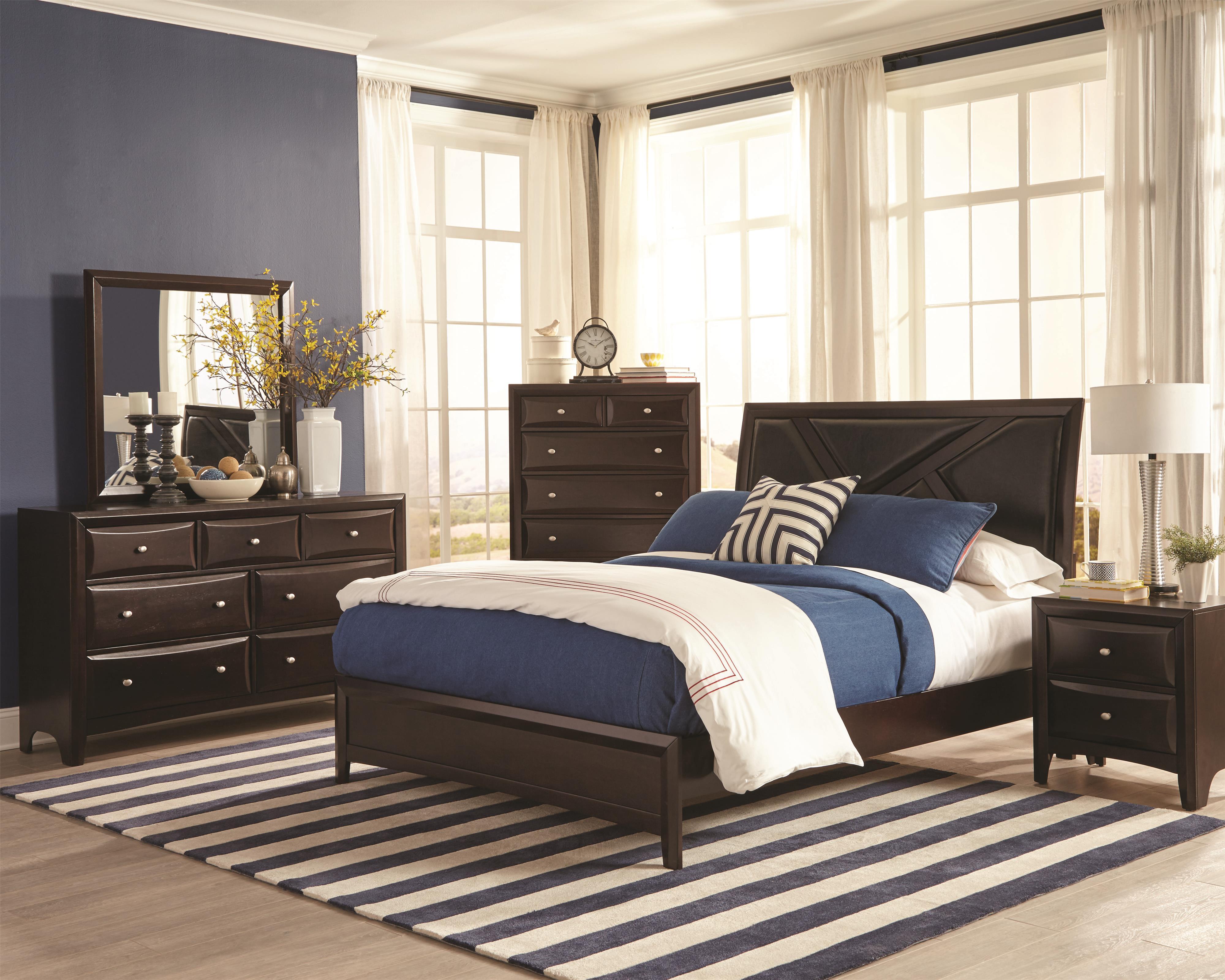 Coaster Rossville King Bedroom Group - Item Number: 20438 K Bedroom Group 1