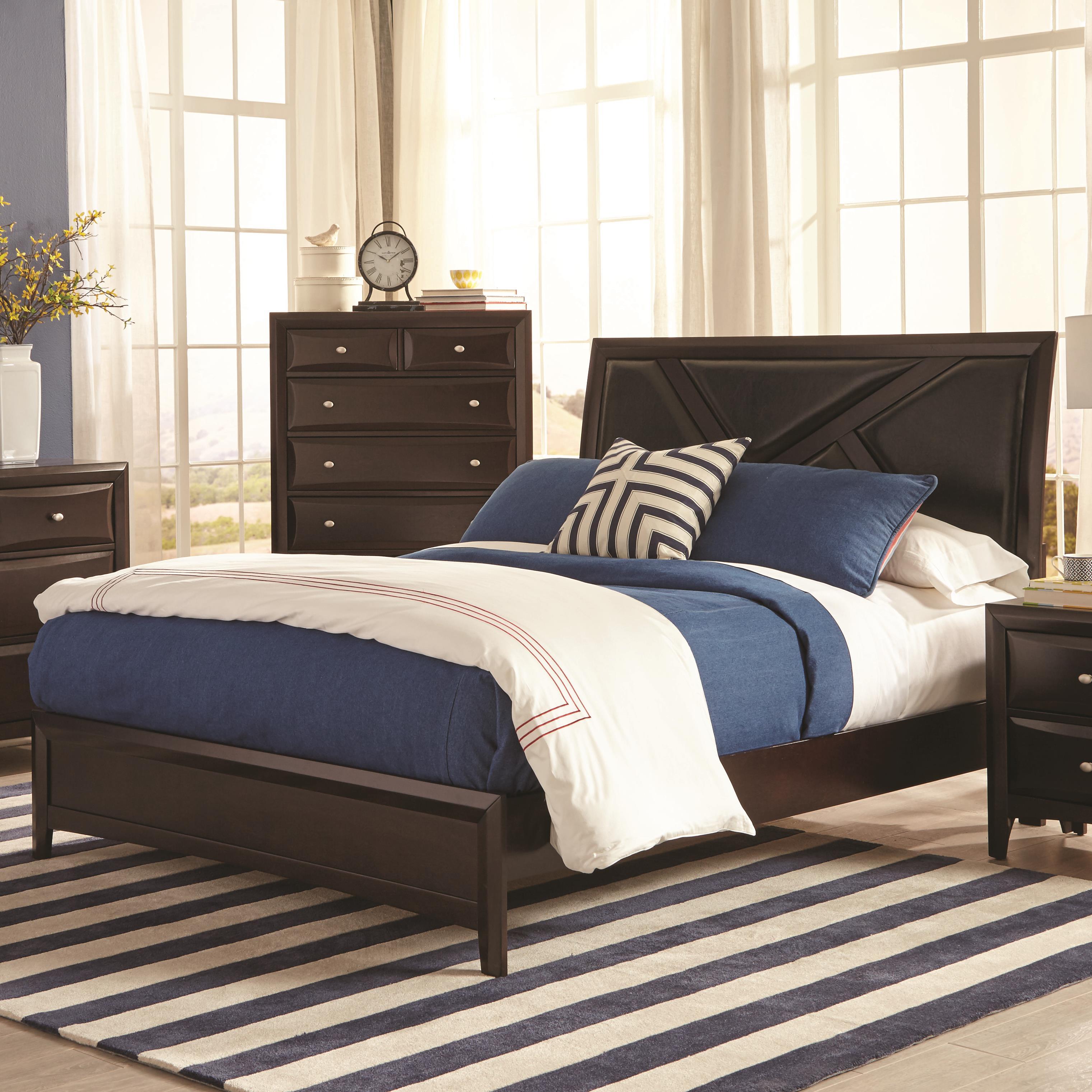 Coaster Rossville King Bed - Item Number: 204381KE