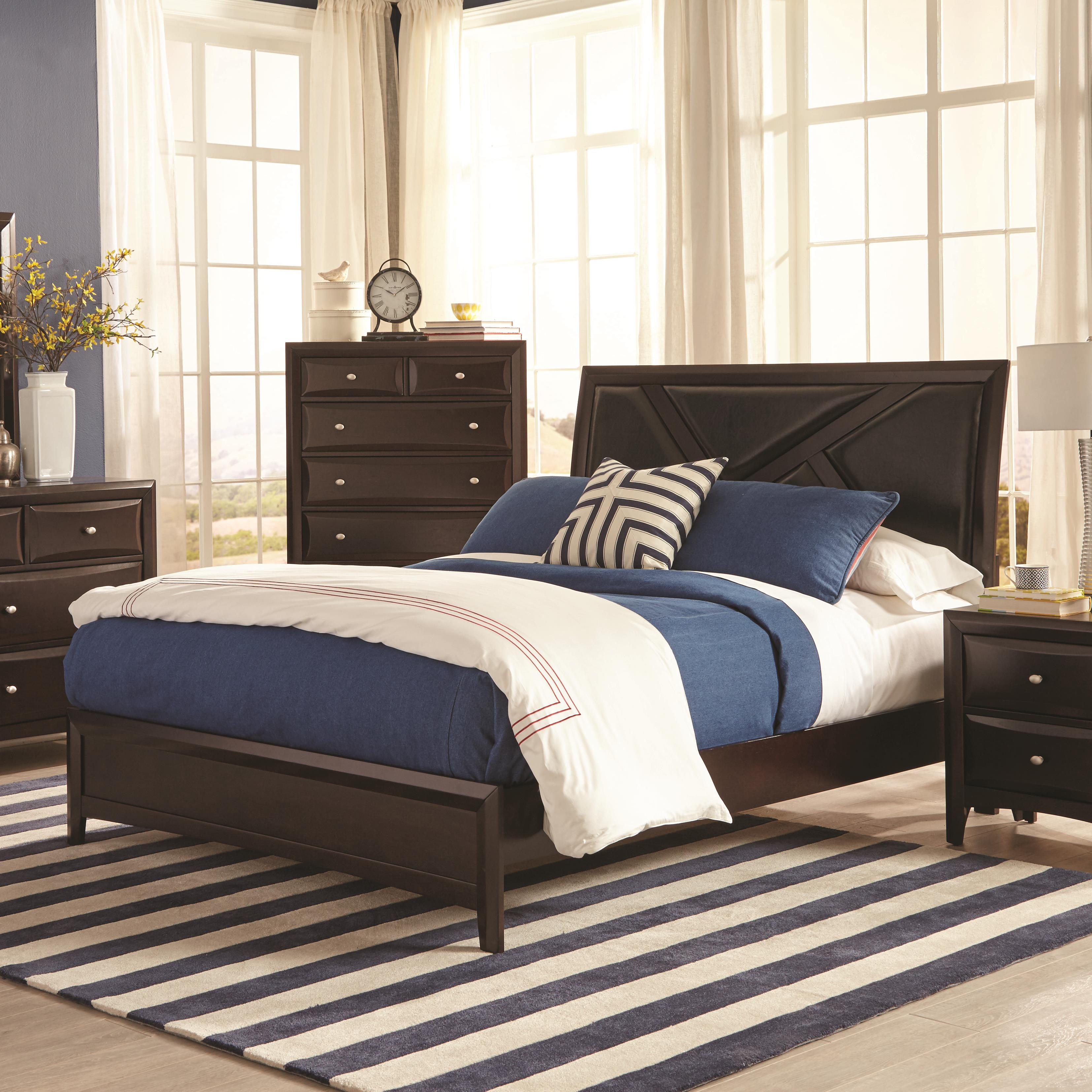 Coaster Rossville Queen Bed - Item Number: 204381Q