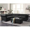 Coaster Roy Sectional Sofa with Armless Chair - Item Number: 500292+500292AC