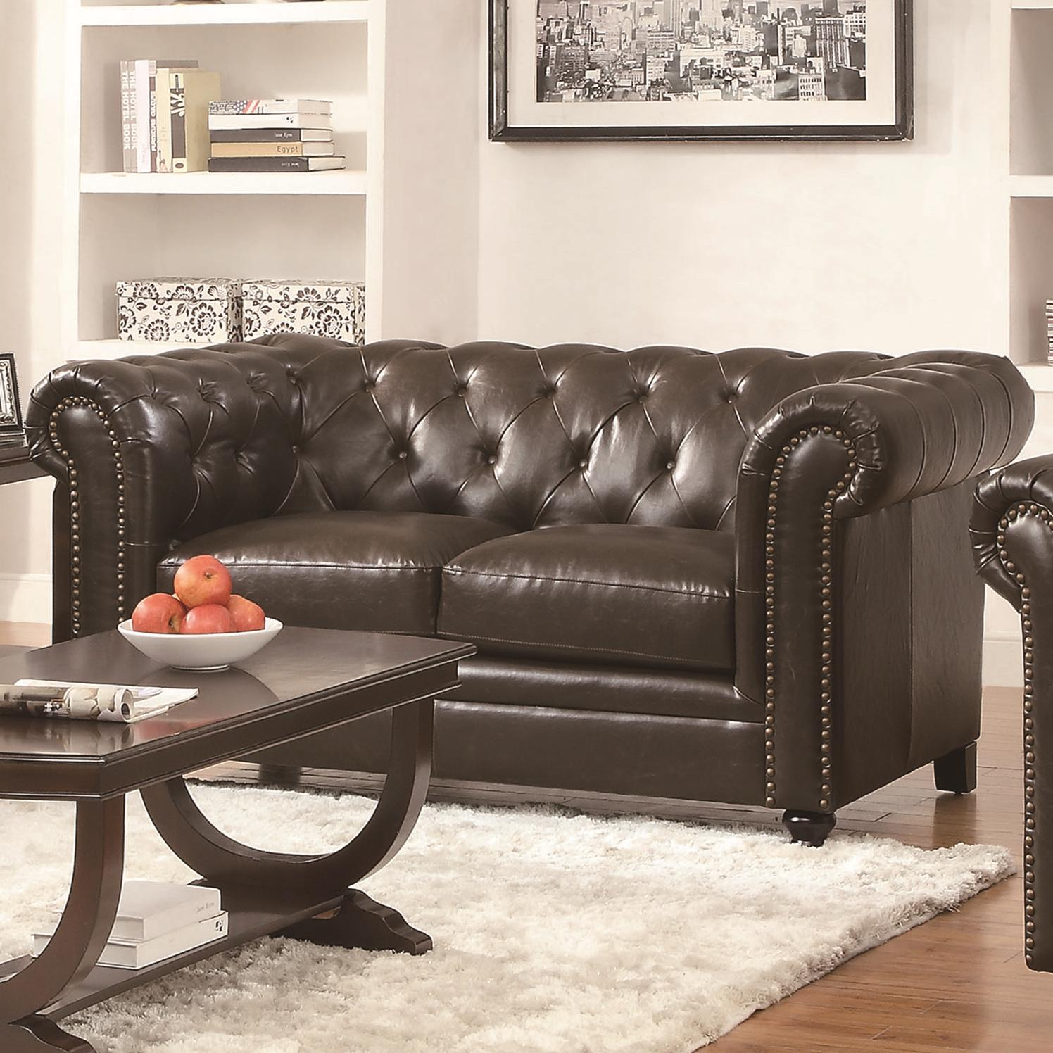 Coaster Roy Love Seat - Item Number: 504552