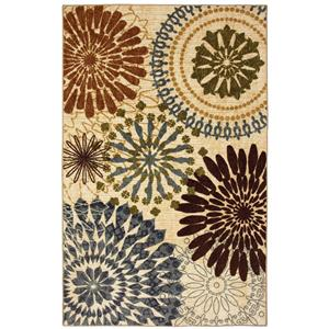 Coaster Rugs Floral Mix Rug