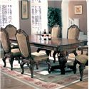 Coaster Saint Charles Dining Table with Double Pedestal - 100131