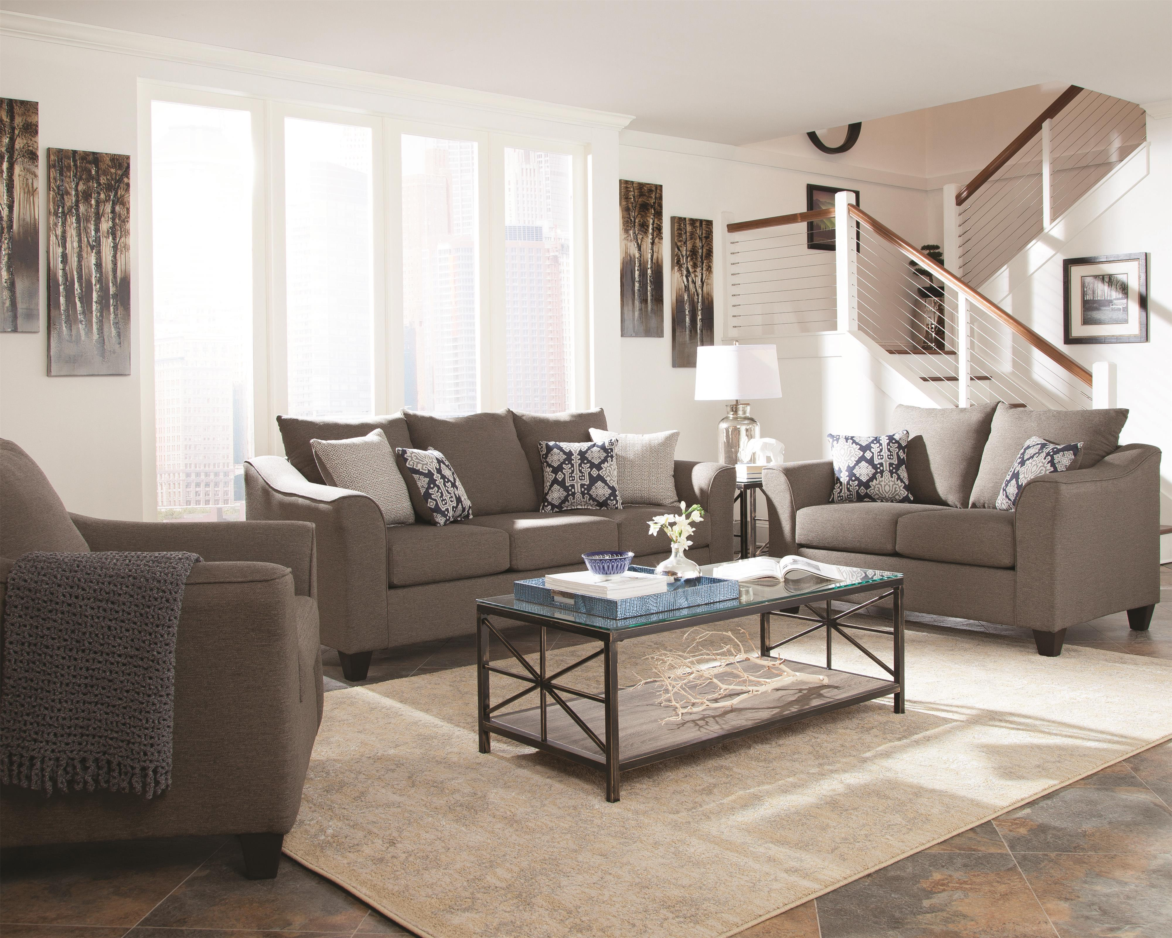 Coaster Salizar Living Room Group - Item Number: 50602 Living Room Group 1