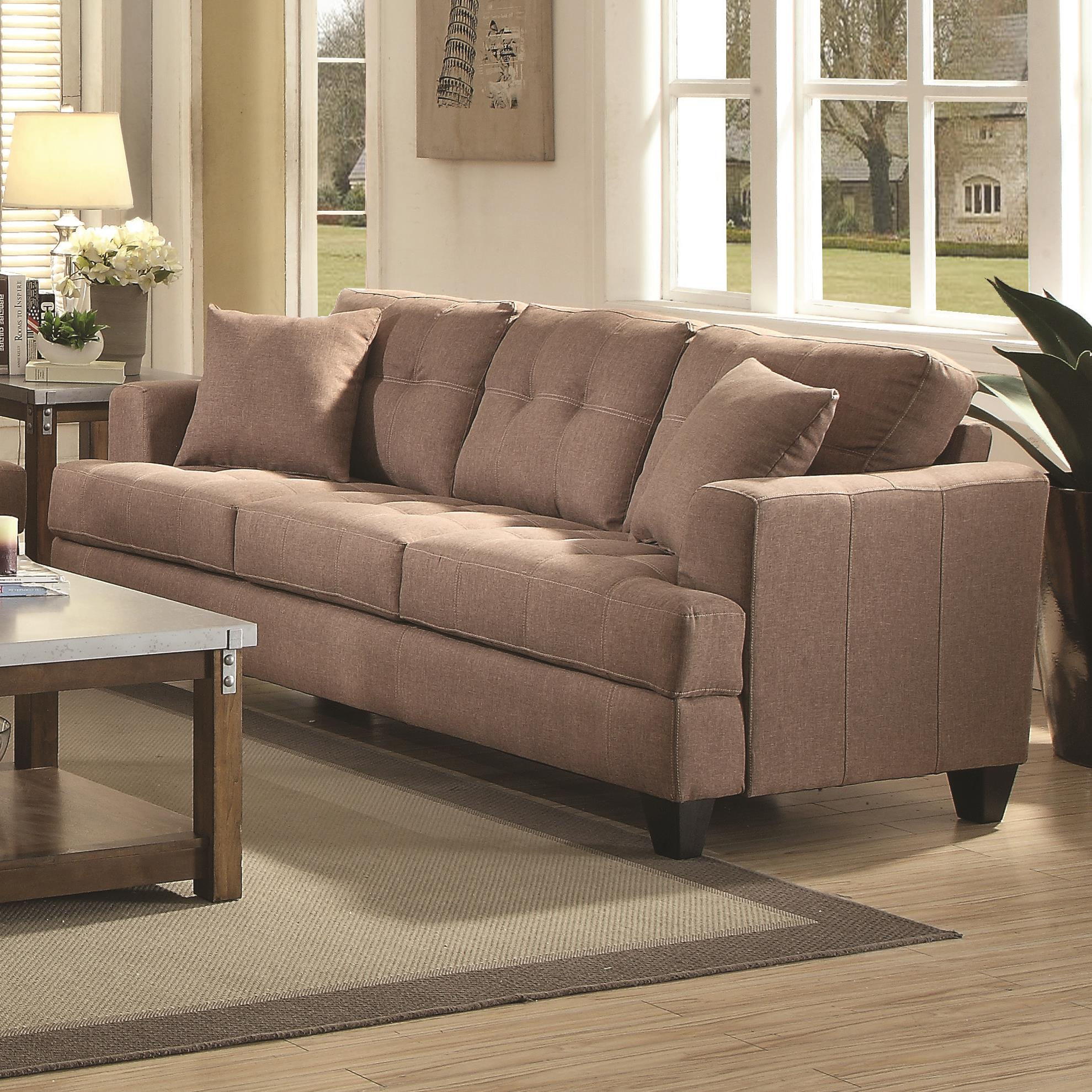 Coaster Samuel Sofa Sofa - Item Number: 505171