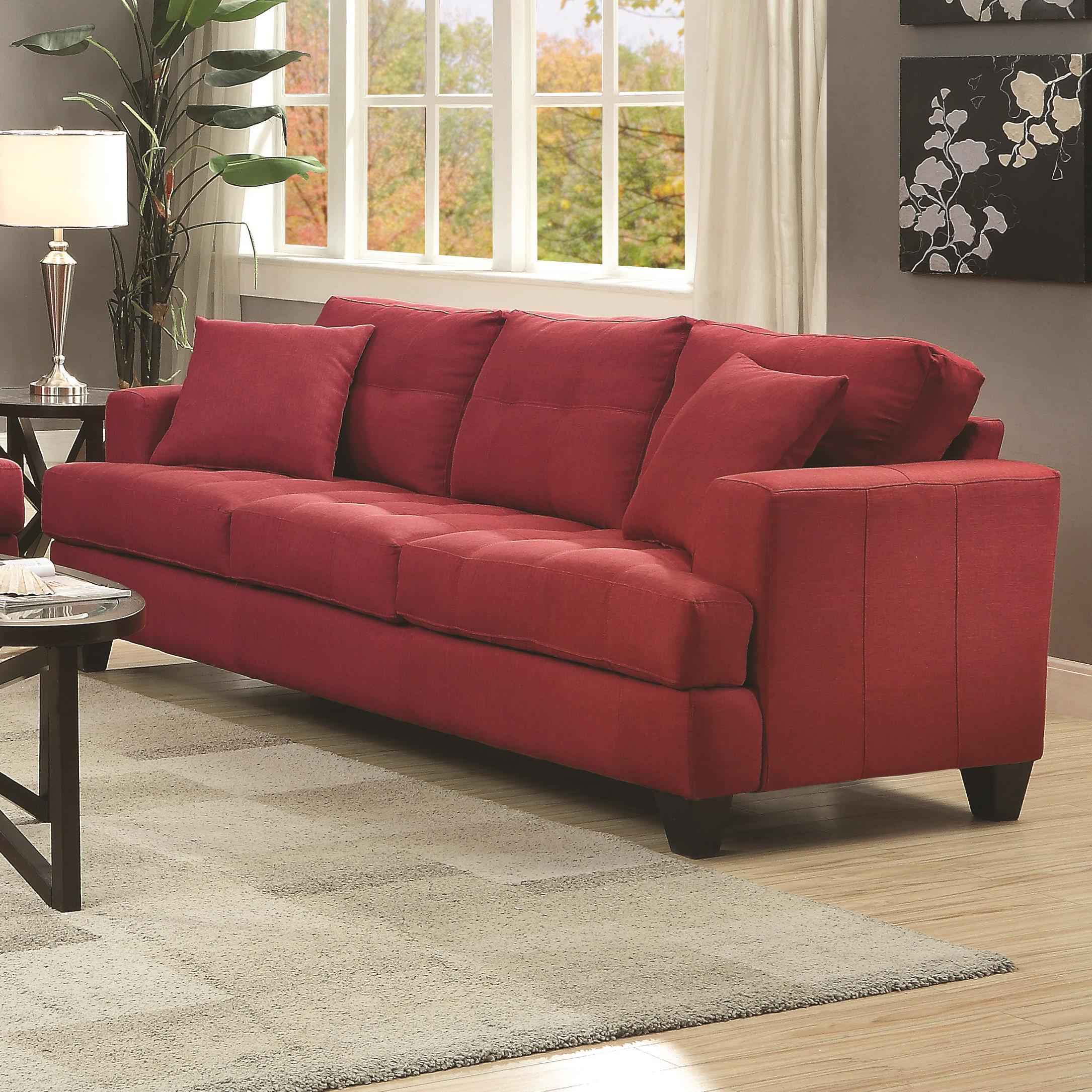 Coaster Samuel Sofa Sofa - Item Number: 505185