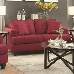 Coaster Samuel Sofa Loveseat