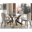 Coaster San Vicente Five Piece Dining Set - Item Number: 120361+4x120362