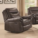 Coaster Sawyer Motion Glider Recliner - Item Number: 602333