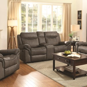 Glider Motion Loveseat