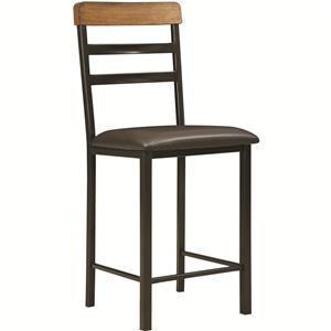 Coaster Sheldon Counter Height Stool