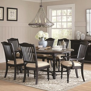 Coaster Simpson Table and Chair Set
