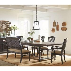 Coaster Simpson Rectangular Dining Table