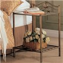 Coaster Sydney Transitional Iron Nightstand with Shelf - 300172