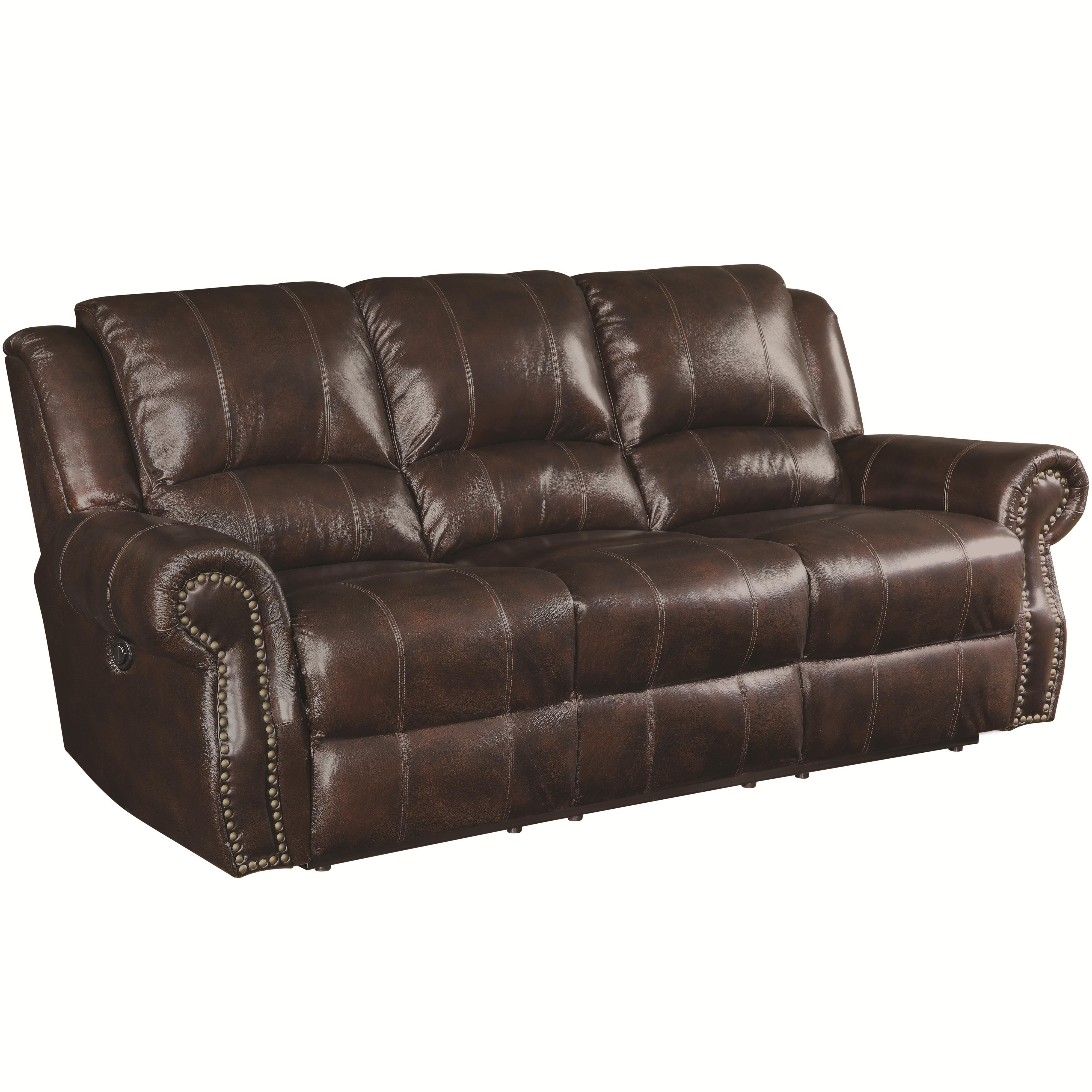 Coaster Sir Rawlinson 650161 Traditional Reclining Sofa