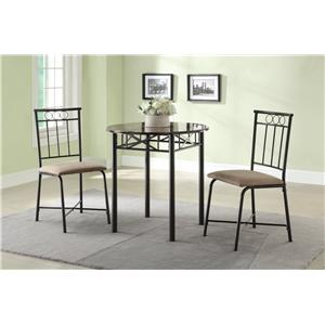 Coaster Slater Three Piece Dining Set