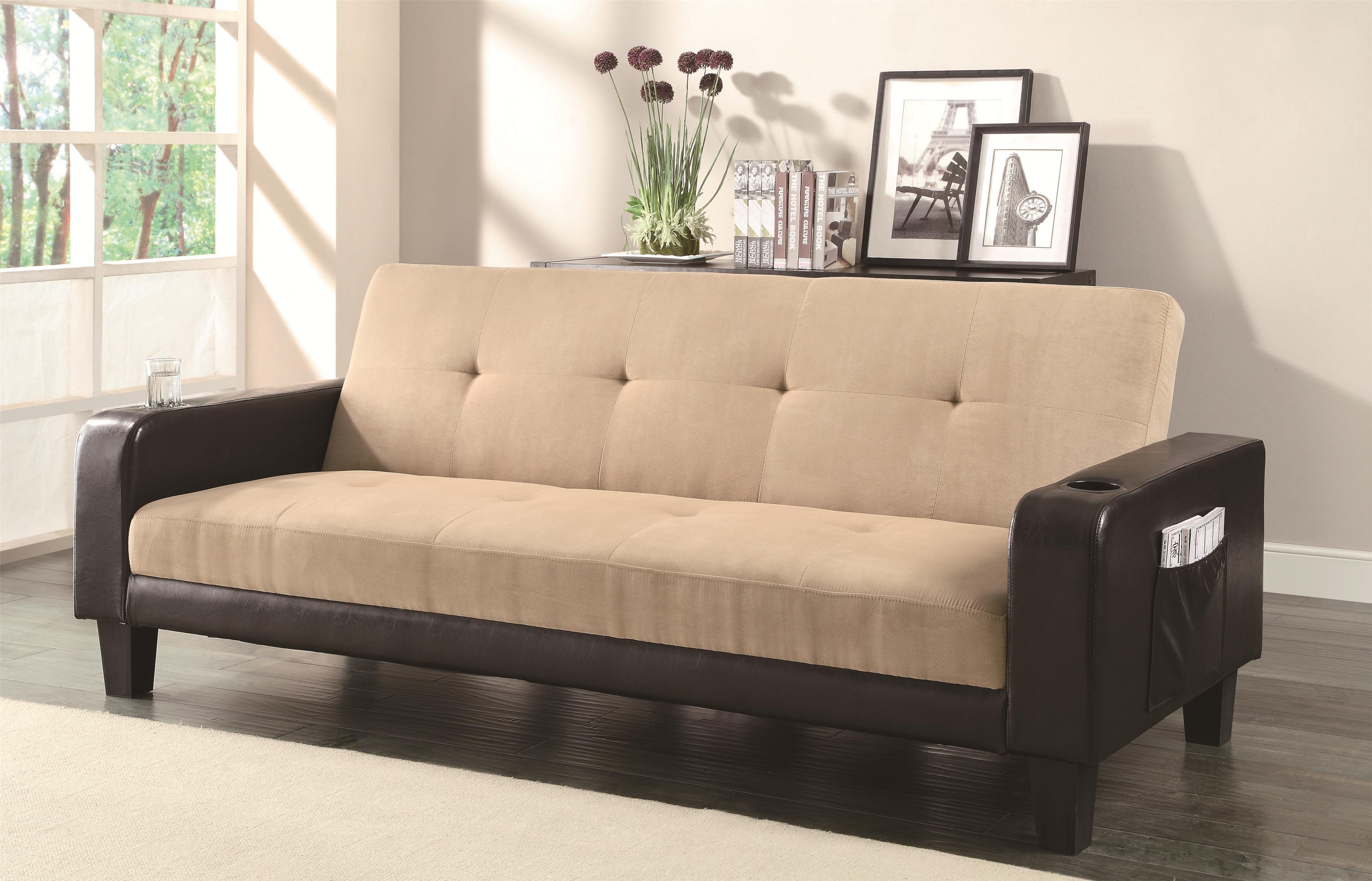 Coaster Sofa Beds and Futons -  Adjustable Sofa - Item Number: 300295