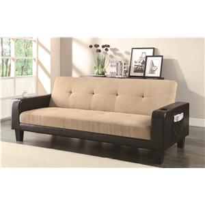 Coaster Sofa Beds and Futons -  Adjustable Sofa