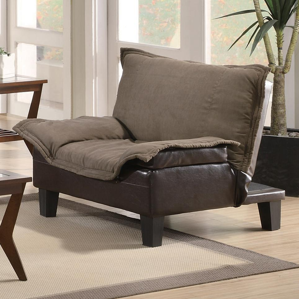 Coaster Sofa Beds and Futons -  Chair Bed - Item Number: 300303