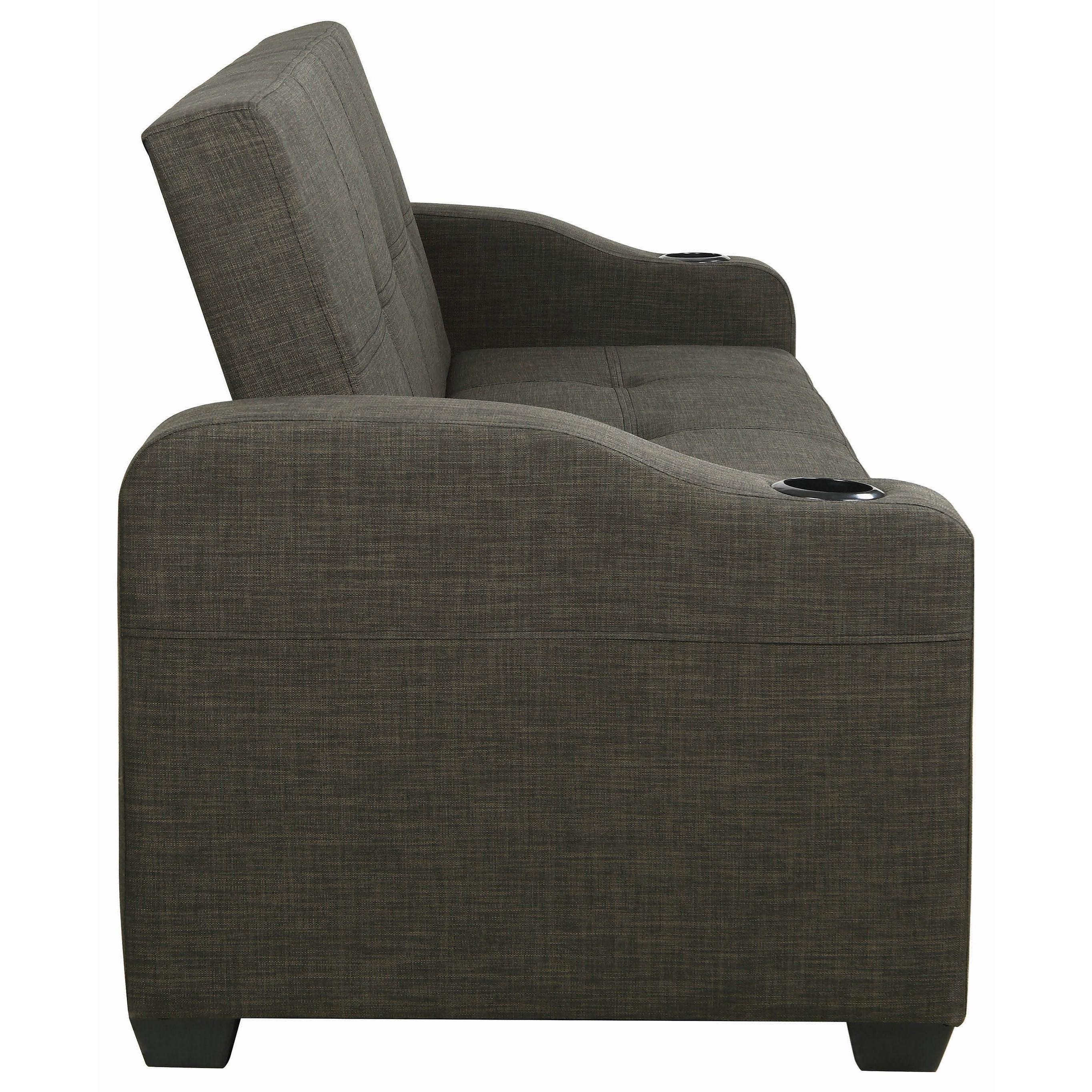 Coaster Sofa Beds And Futons Casual Sofa Bed With Pull Out
