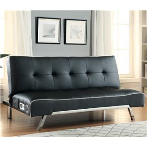 Coaster Sofa Beds and Futons -  Sofa Bed with Built-In Bluetooth Speakers