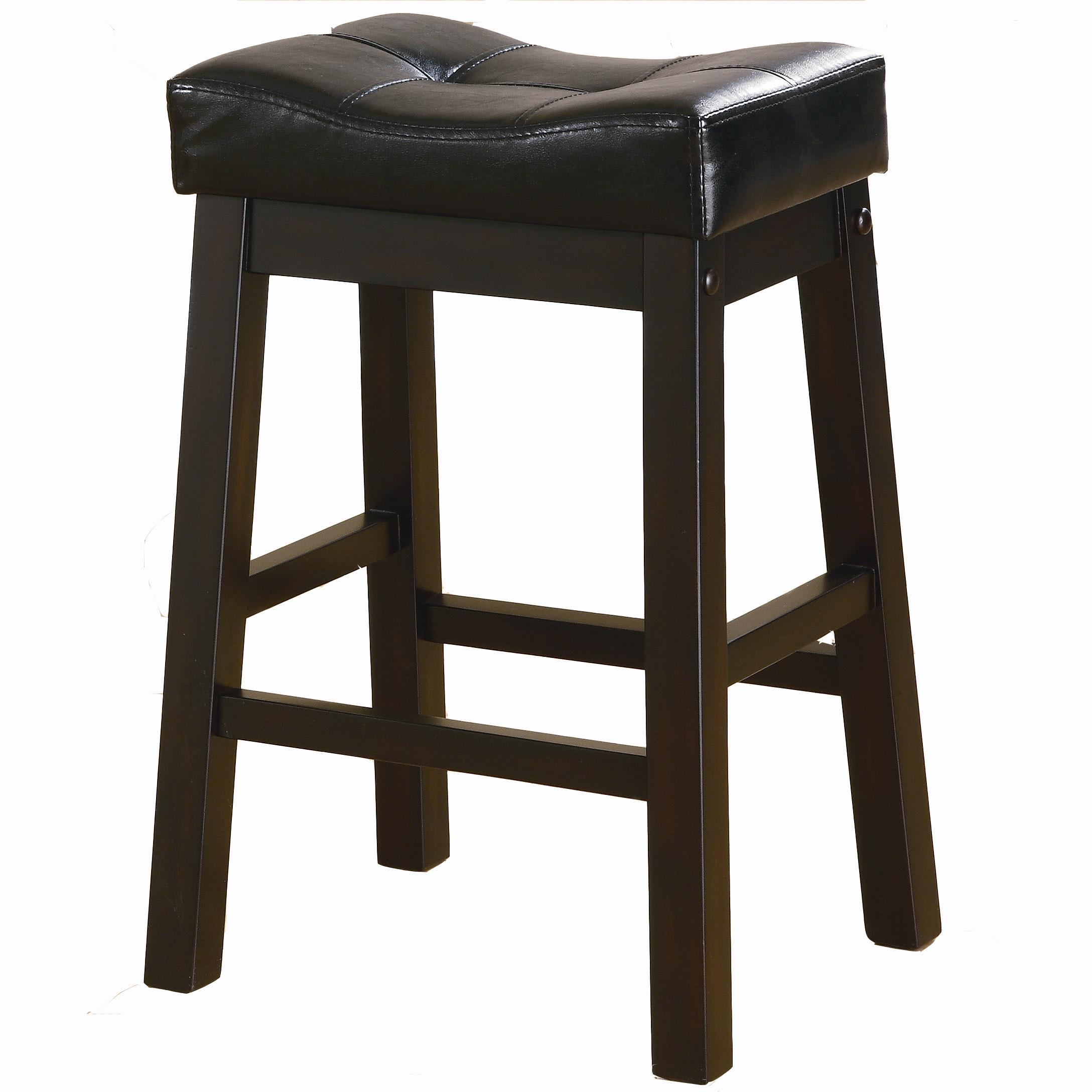 Coaster Sofie 120519 24 Quot Upholstered Seat Bar Stool Dunk
