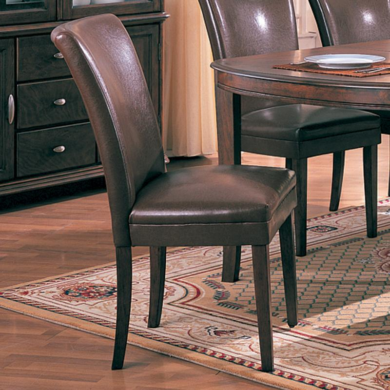 Coaster Soho Parson Chair - Item Number: 4077BRN