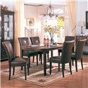 Coaster Soho Parson Side Chair - Shown as part of table set