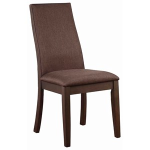 Side Chair, Brown