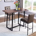 Coaster Stoneview 3 Pc Pub Table Set - Item Number: 182181+2X182739