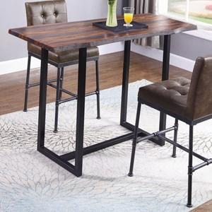 Live-edge Bar Table