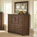 Coaster Sutter Creek Dresser & Mirror - Item Number: 204533+204534