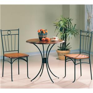 Coaster Tamiami 3 Piece Dining Set