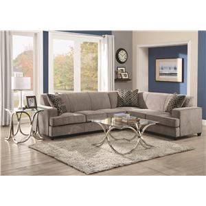 Coaster Tess Sectional Sofa