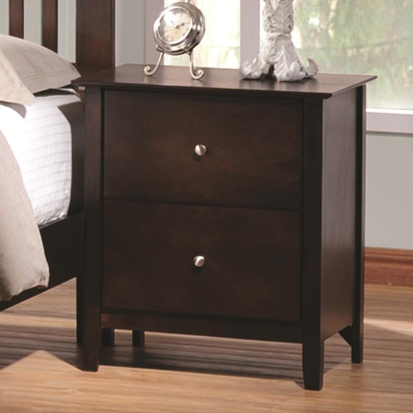 Coaster Tia Nightstand - Item Number: 202082