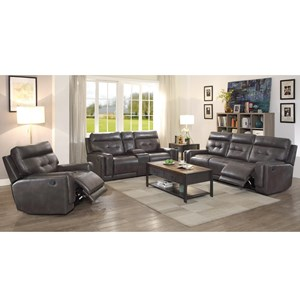 Coaster Trenton Reclining Living Room Group