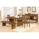 Coaster Tucson Formal Dining Room Group - Item Number: 10817 Dining Room Group 1