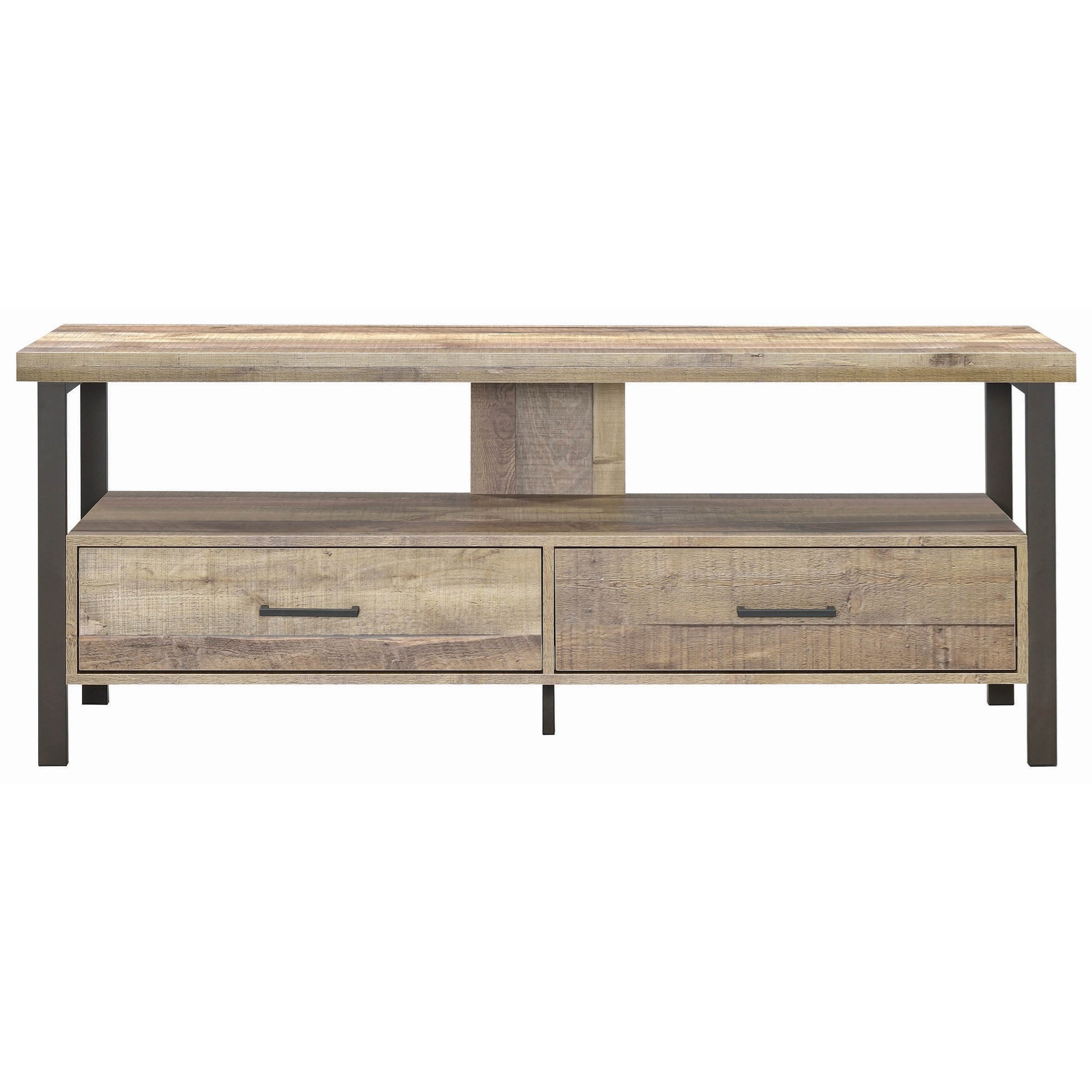 "Levitz Home Furnishings: Coaster TV Stands 721881 Industrial 59"" TV Console"