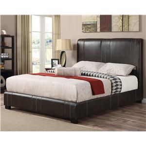 Coaster Upholstered Beds Queen Caleb Upholstered Bed