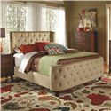 Coaster Upholstered Beds Queen Upholstered Bed - Item Number: 300248Q