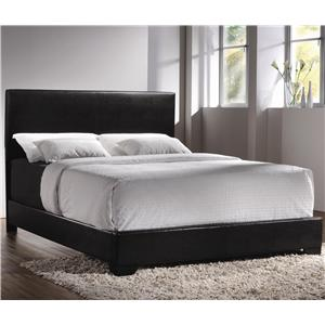 Coaster Upholstered Beds King Upholstered Low-Profile Bed