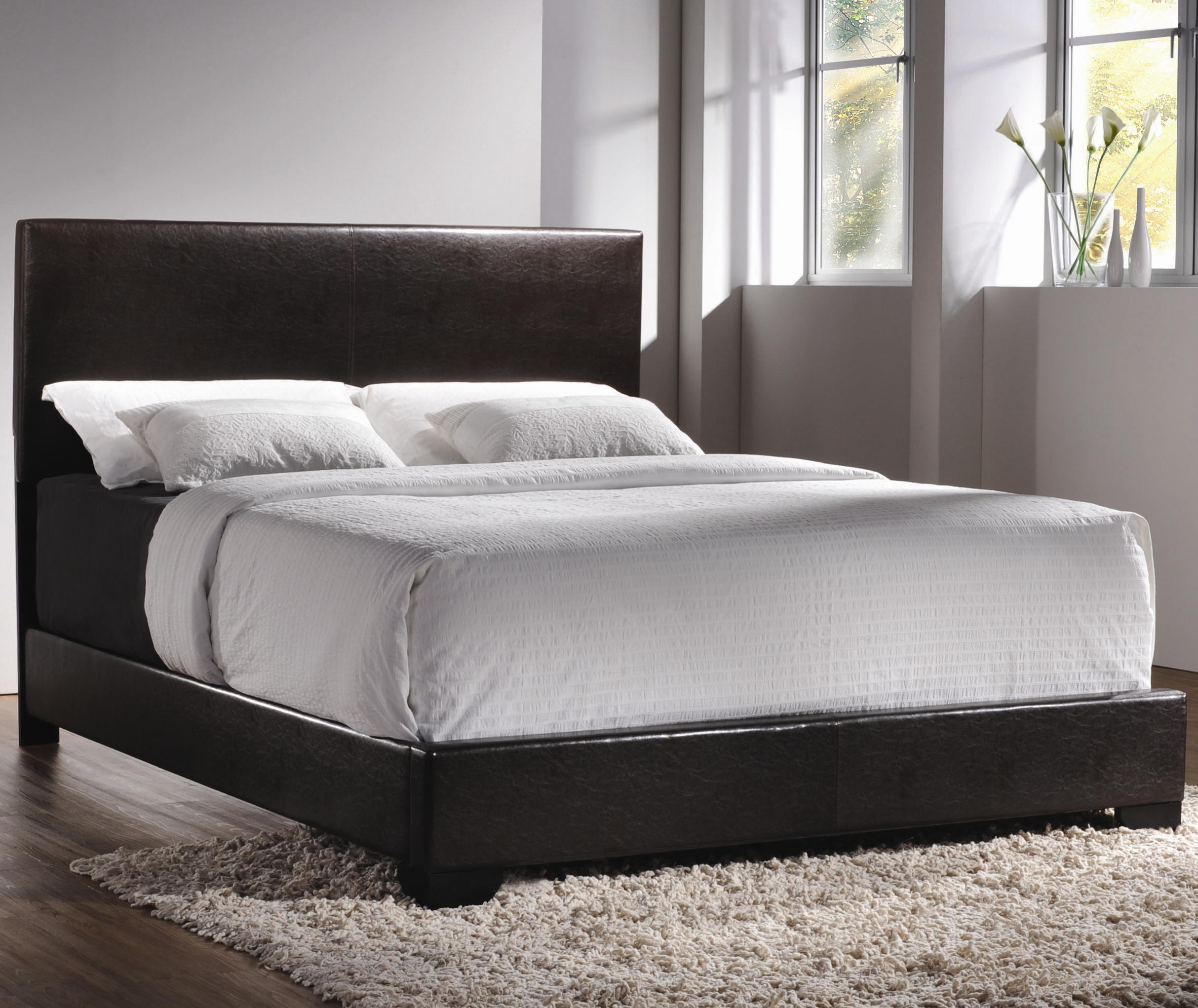 Coaster Upholstered Beds Queen Upholstered Low-Profile Bed - Item Number: 300261Q